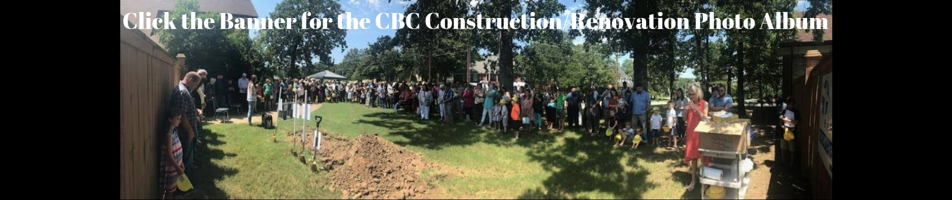 Click the Banner for the CBC Building_Renovation Photo Album