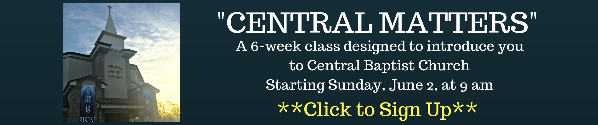 CENTRAL MATTERS